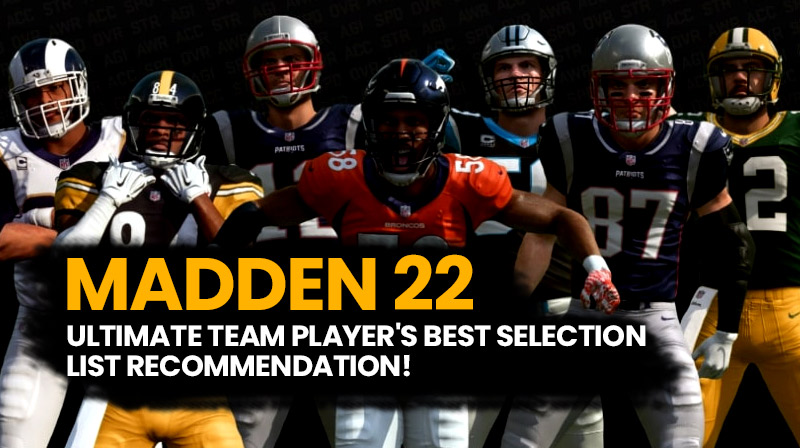 Madden 22: Ultimate team player