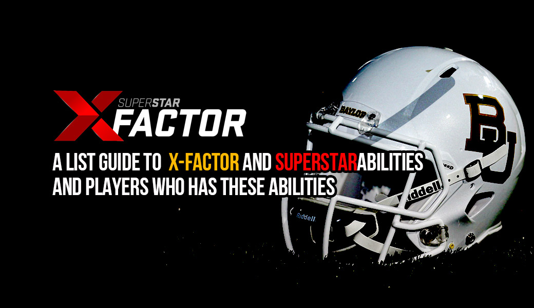 Madden 22: A list guide to X-Factor and Superstar Abilities and players who has these abilities