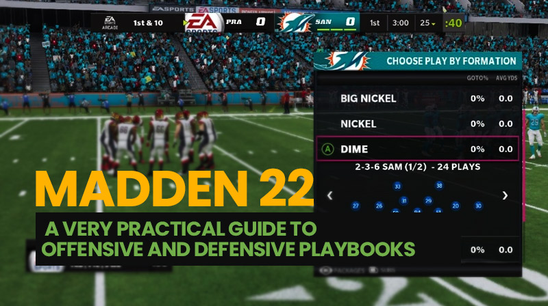 Madden 22: A very practical guide to offensive and defensive playbooks