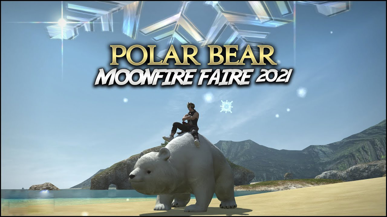 FFXIV: How to Get Polar Bear Mount in Moonfire Faire 2021 Event?