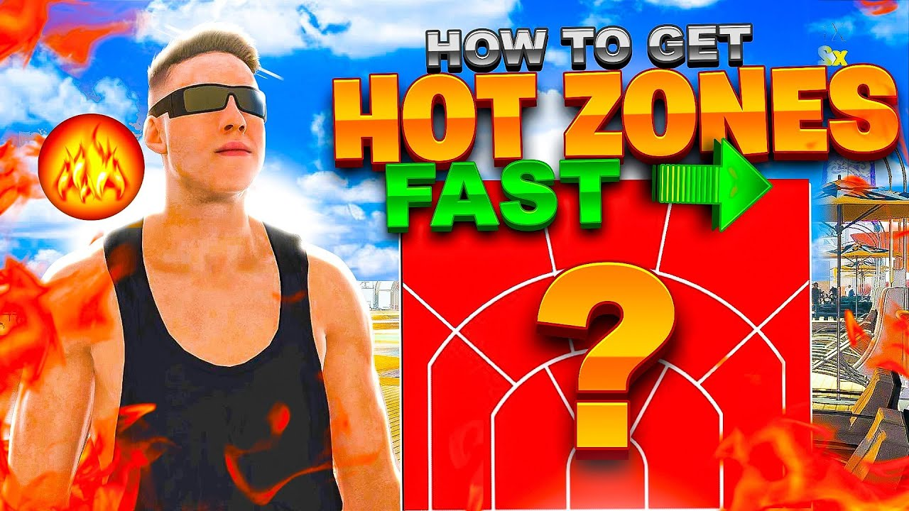NBA 2K22: How to Get and Find Hot Zones?